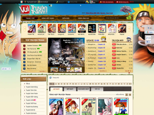 Thiết kế website đọc truyện theo yêu cầu