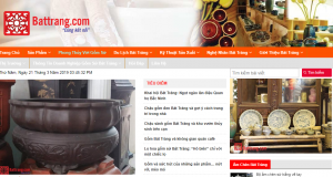 Thiết kế website làng nghề truyền thống