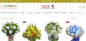 Thiết kế website shop hoa tại Hà Nội