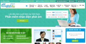 Thiết kế website dạy tiếng Anh chuyên nghiệp tại Hà Nội