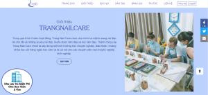 Thiết kế website nails tiệm làm móng uy tín