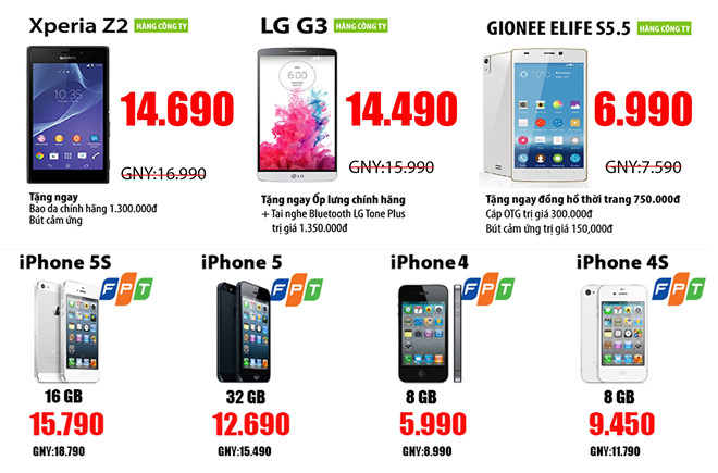 Thiết kế website bán hàng điện thoại hiệu quả