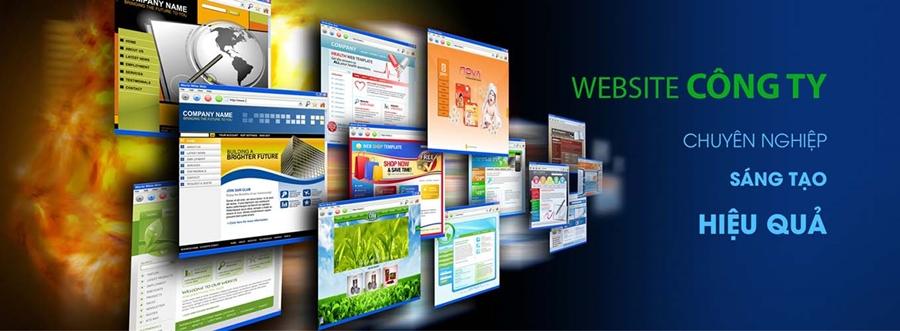 Thiết kế website cho công ty chuyên nghiệp