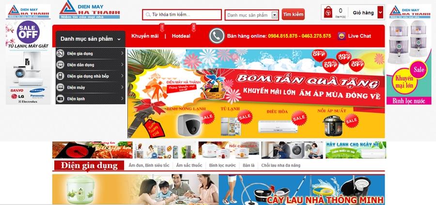Thiết kế website bán hàng chuyên nghiệp online