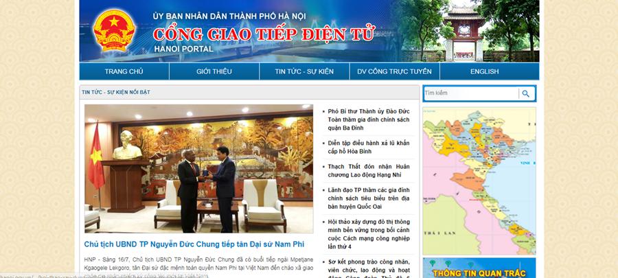 Thiết kế website cơ quan hành chính nhà nước chuyên nghiệp
