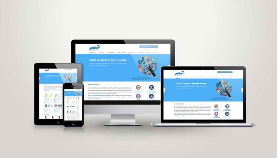 Thiết kế website phiên bản mobile tại Hà Nội